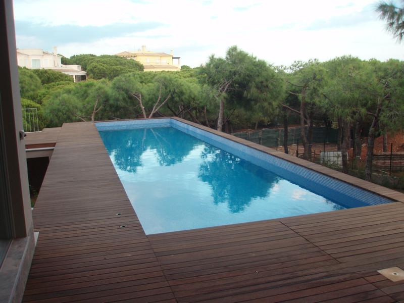 Piscina em betao armado for Ver piscinas